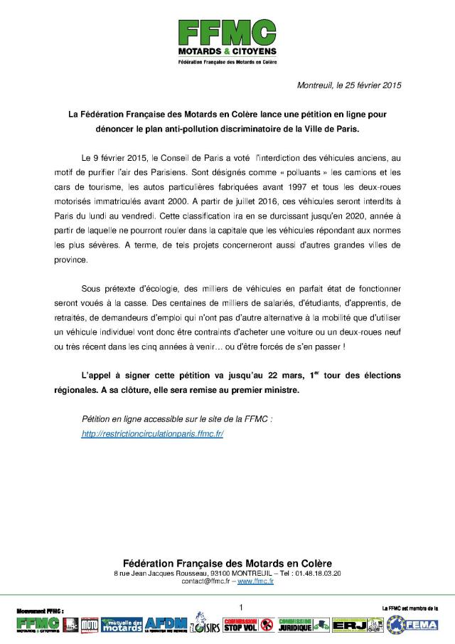 2015_02_25_CP FFMC_petition_plan_paris